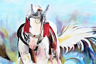Painting - Flowing Tail by Khalid Saeed