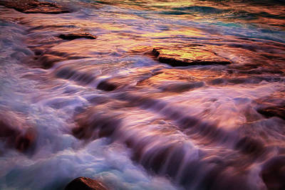 Photograph - Flowing Tide by Giovanni Allievi