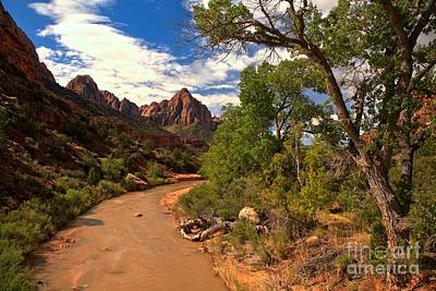Photograph - Flowing To The Watchman by Adam Jewell