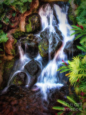 Photograph - Flowing Water  ...  by Chuck Caramella