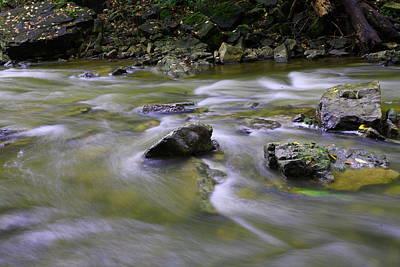 Flowing Water 2 Art Print by Mark Platt