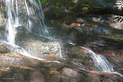 Photograph - Flowing Water by Kay Lovingood