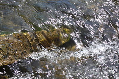 Photograph - Flowing Water by Parker O'Donnell