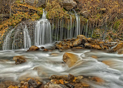 Photograph - Flowing Water by Scott Read