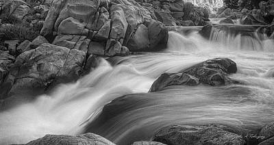 Flowing Waters At Kern River, California Art Print