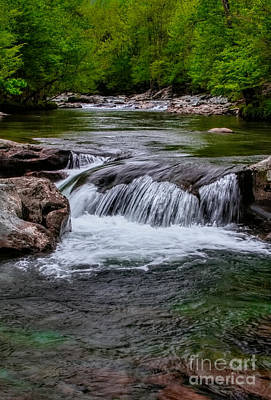 Photograph - Flowing Waters by Dave Bosse