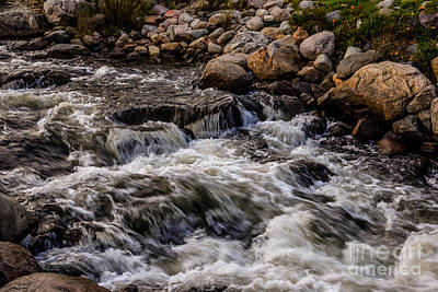 Photograph - Flowing Waters by Grace Grogan
