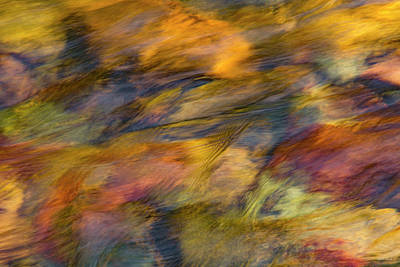 Photograph - Flowing Waters Luminescence by Leland D Howard