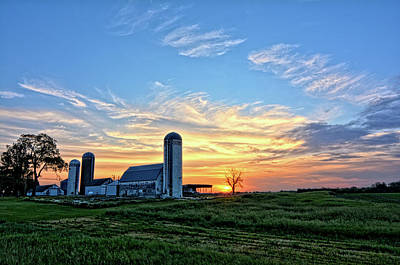 Photograph - Floyd County Sunrise 4 by Bonfire Photography