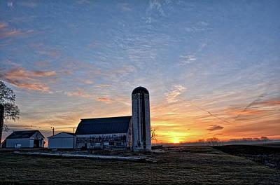 Photograph - Floyd County Sunrise by Bonfire Photography