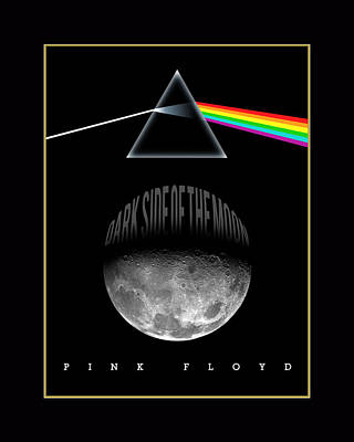 Painting - Floyd The Darkside by Gary Grayson