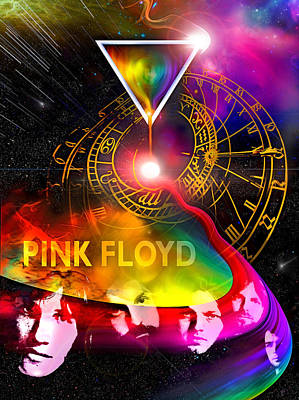 Floyd Time Art Print