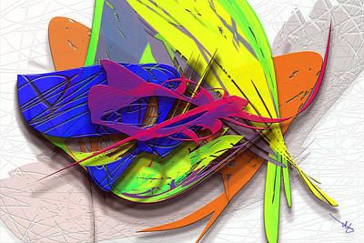 Digital Art - Flu by Warren Lynn