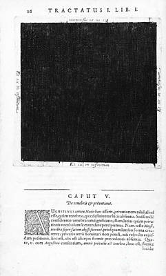 Macrocosm Photograph - Fludds Dark Universe, 1617 by Wellcome Images