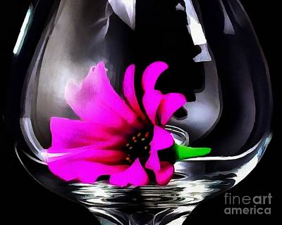 Painting - Fluered Glass by Catherine Lott