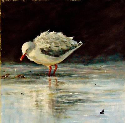 Painting - Fluffy Jonathan.. by Cristina Mihailescu