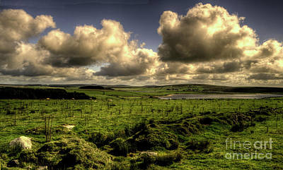 Bodmin Photograph - Fluffy Little Clouds by Rob Hawkins
