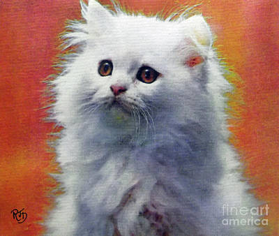 Painting - Fluffy Princess by Richard James Digance