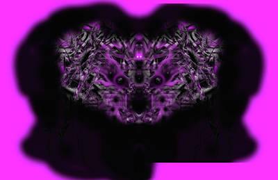 Digital Art - Fluffy by Subbora Jackson