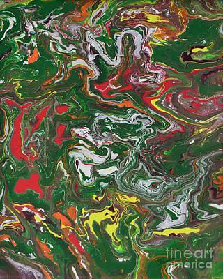 Painting - Fluid Abstract One by Olga Hamilton