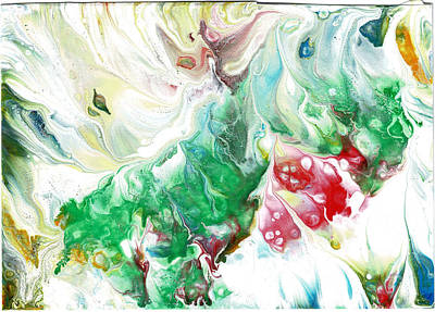 Painting - Fluid Precious Stones by Cruz Selene Ambrosio