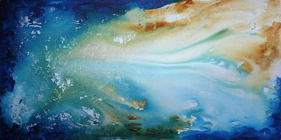 Fluid Rigidity By Madart Art Print by Megan Duncanson