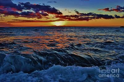 Photograph - Fluid Sunset by Craig Wood