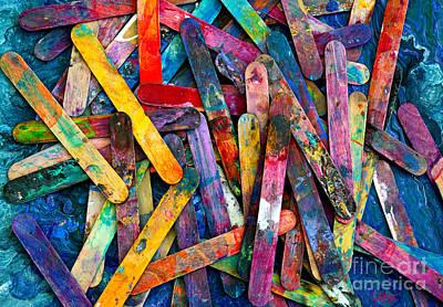 Photograph - Fluid Tools by Expressionistart studio Priscilla Batzell