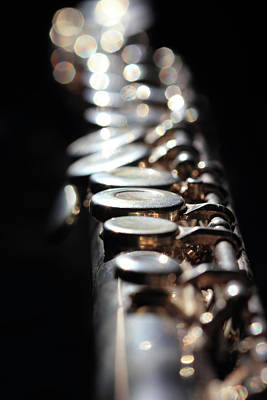 Photograph - Flute Close Up by Angela Murdock