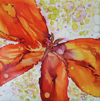 Painting - Flutter by Joanne Smoley