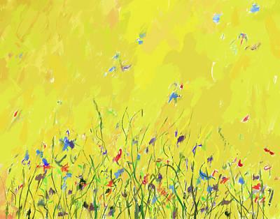 Painting - Flutterbies by Steve Lockwood