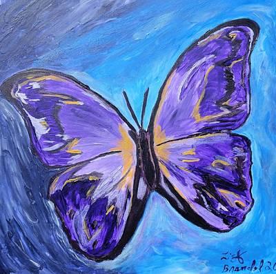 Flutterby Bring The Light Art Print