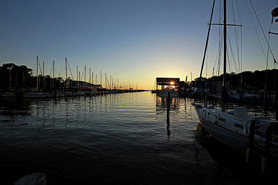 Photograph - Fly Creek Marina Fairhope Alabama by Judy Vincent