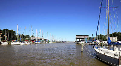 Photograph - Fly Creek Marina by Judy Vincent