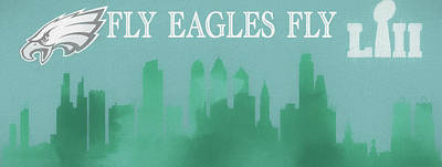 Mixed Media - Fly Eagles Fly by Dan Sproul