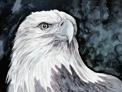 Painting - Fly Eagles Fly by Sandy Sandy