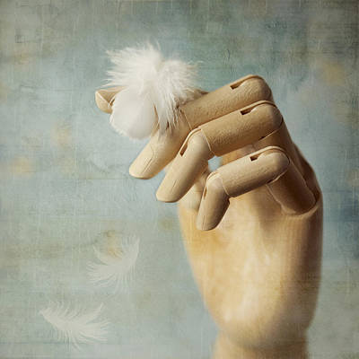 Hands Photograph - Fly Far Away by Amy Weiss