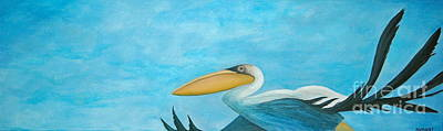 Sea Birds Painting - Fly Far Away by Stephanie Troxell