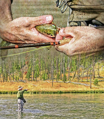 Photograph - Fly Fishing Dream by Jennie Marie Schell