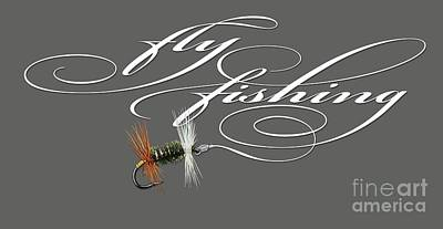 Trout Painting - Fly Fishing Renegade  by Rob Corsetti