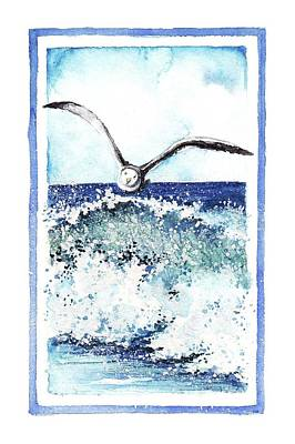 Art Print featuring the painting Fly High by Heidi Kriel