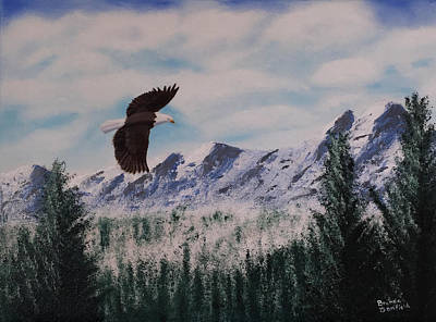 Painting - Fly Like An Eagle by Brenda Bonfield