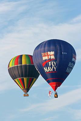 Photograph - Fly Navy by Brian Roscorla