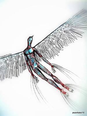 Fly Art Print by Paulo Zerbato