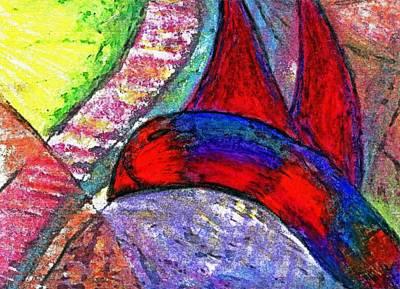 Fly Up High Littly Birdy Art Print by Cassandra Donnelly