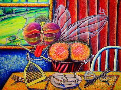 Painting - fly by Viktor Lazarev