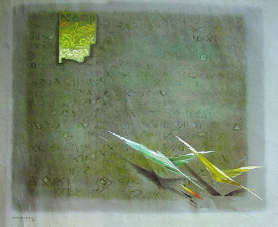 Painting - Fly With Me  by Saadi Babely