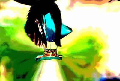 Digital Art - Flyby Abstract by Aliceann Carlton