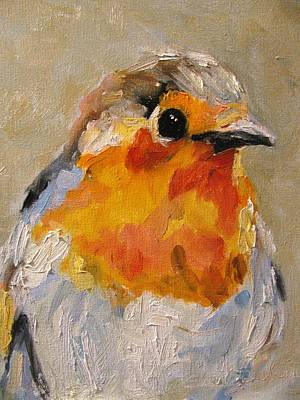 Flycatcher Painting - Flycatcher by Susan E Jones