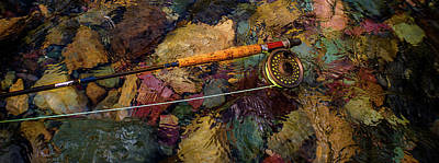 Photograph - Flyfishing Essentials by Thomas Nay